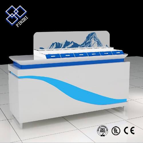 mall kiosk counter