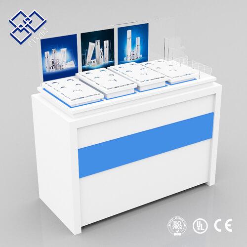 perfume shop counter