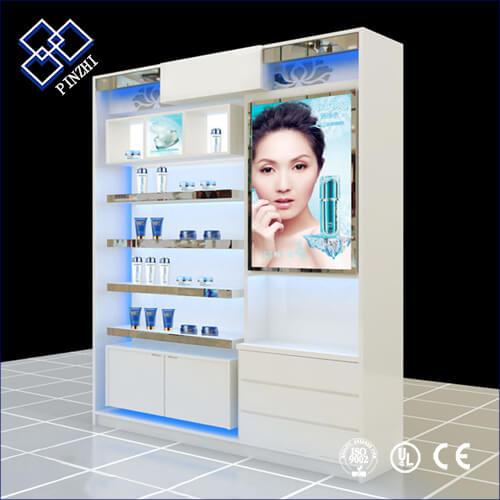 perfume display showcase