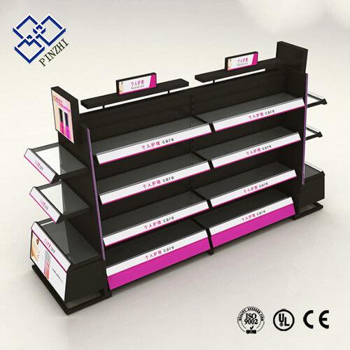 cosmetic display shelf