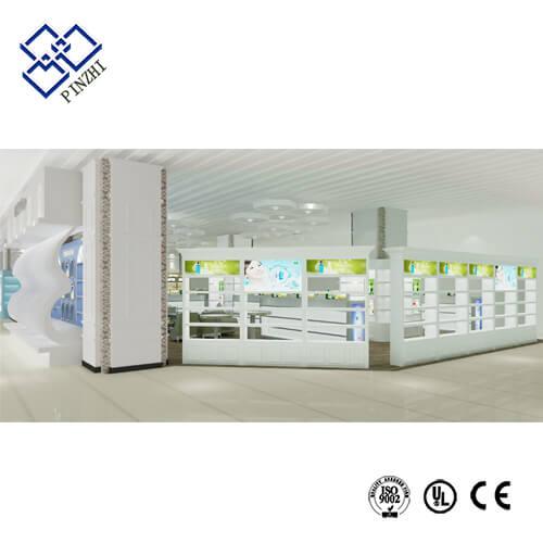 cosmetic shop design