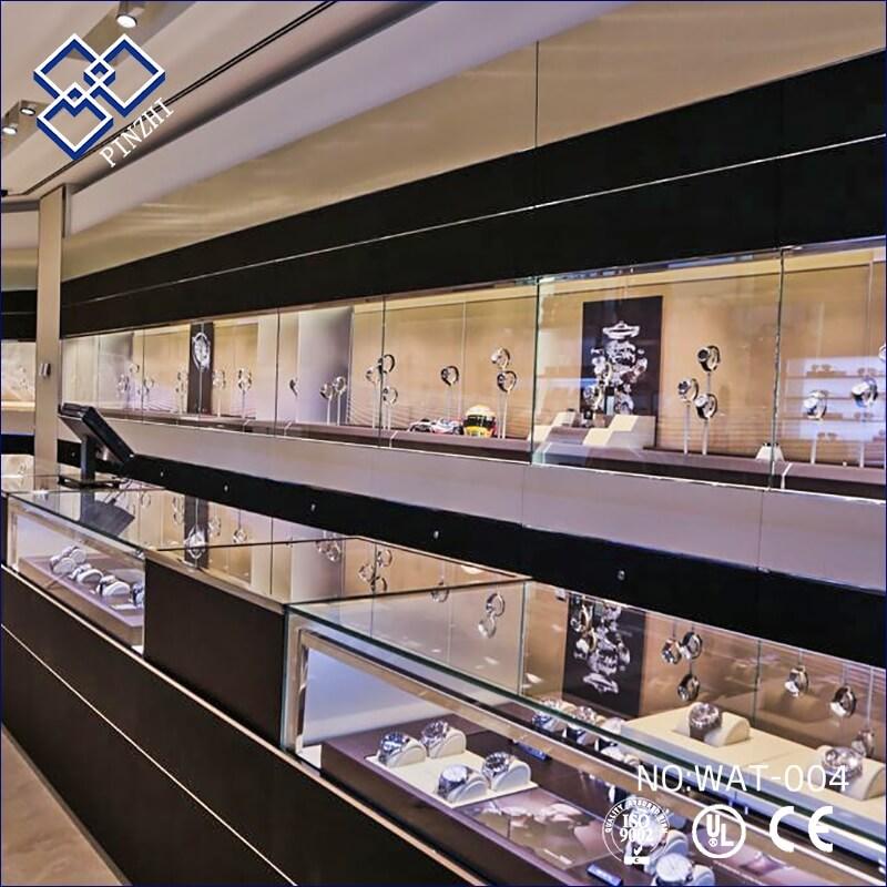 watch store interior design