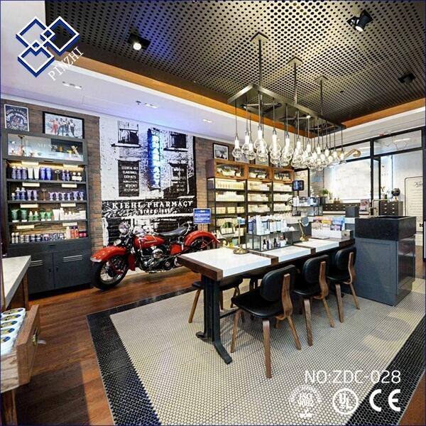 small cosmetic shop design