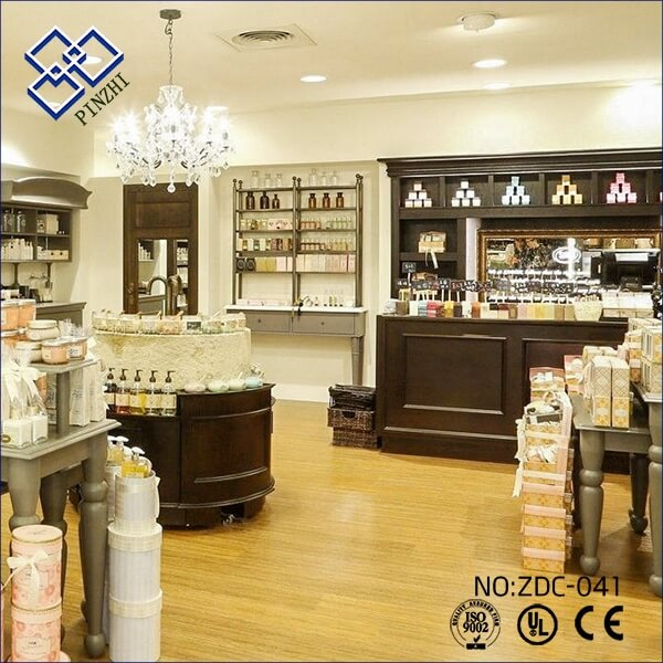 cosmetics retail shop furniture design