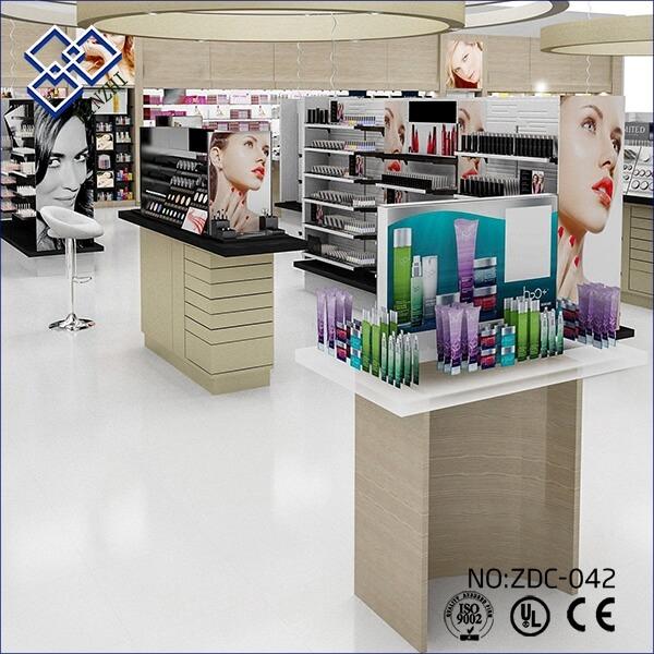 interior design for small cosmetic shop