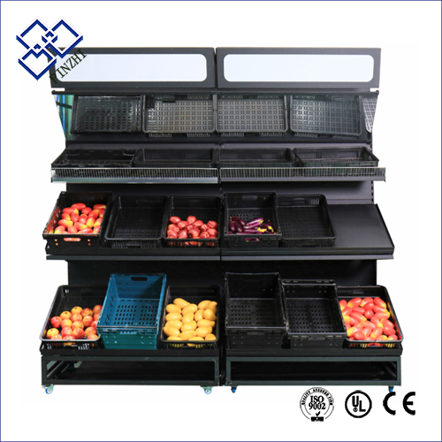 fruit display shelves