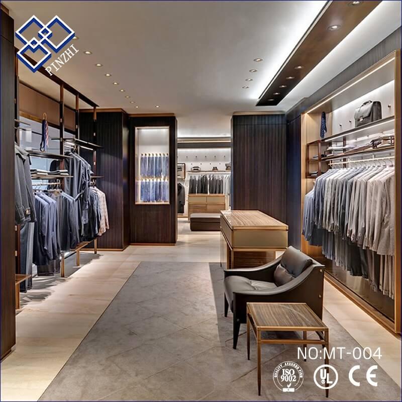 Retail Clothing Shop Interior Decoration For Men S Wear Guangzhou Pinzhi Display Manufacturer