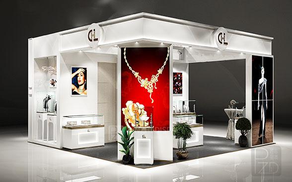 jewelry kiosk design