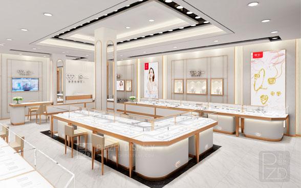 luxury jewelry shop design project
