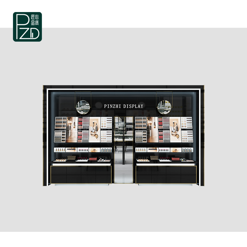 Modern Style cosmetic display showcase for display