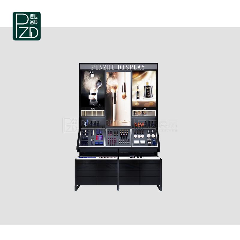 Factory Price makeup display cabinet For makeup Shop