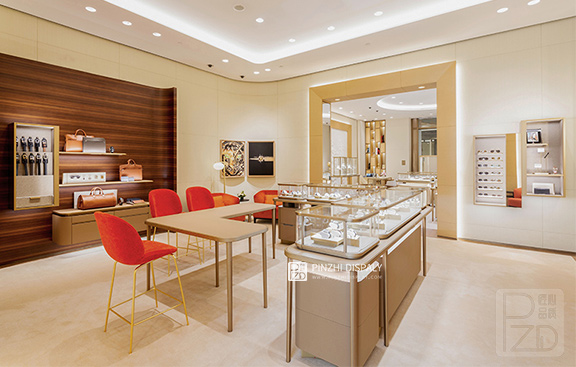 High end design for jewelry shop