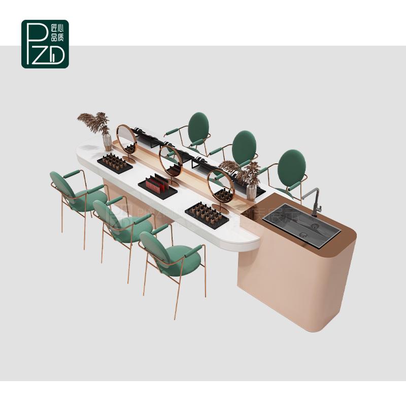 Luxury cosmetic shop counter design