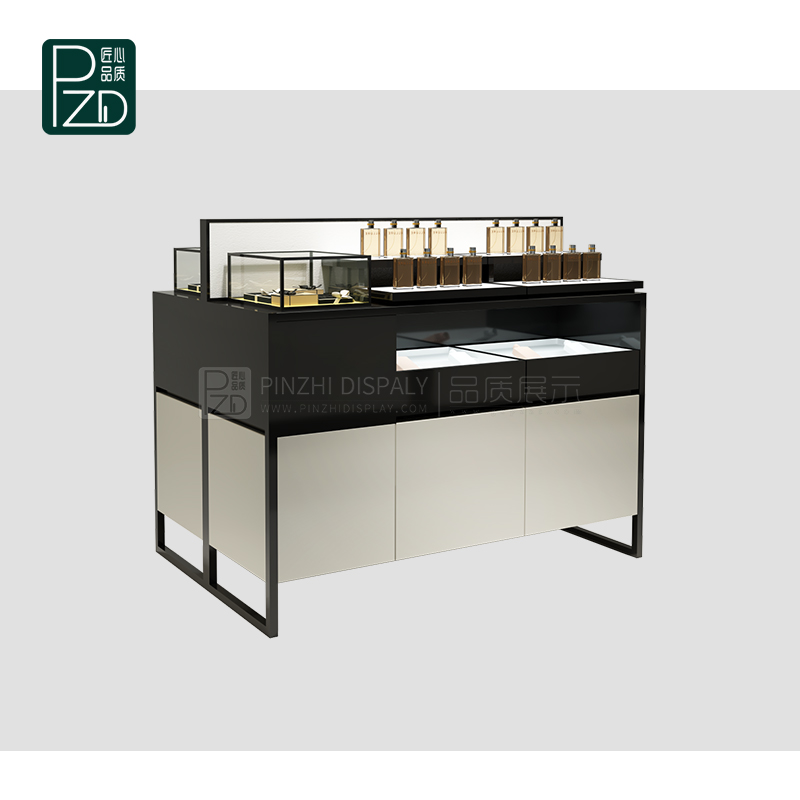 High quality makeup display counter cosmetic counter for kiosk