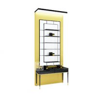 high end makeup display cabinet perfume display shelf