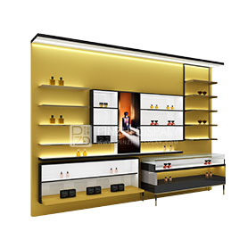 Customized furnitures for cosmetic display display rack for cosmetic