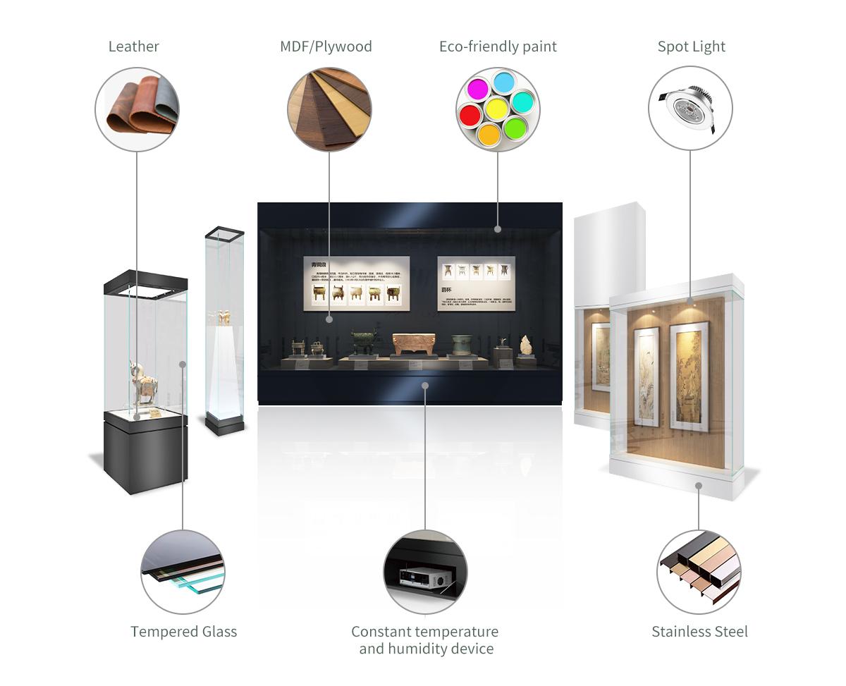 Pinzhi-Luxury showcase materials-museum