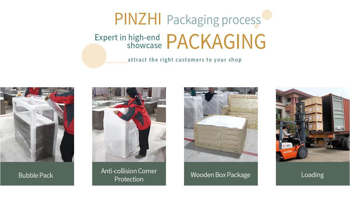 Pinzhi-Showcase material-Packaging process