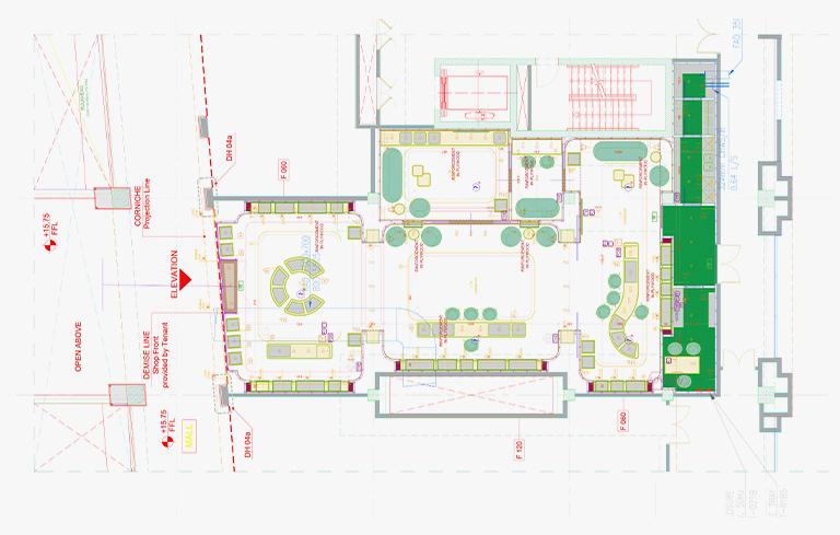 Space layout plan design