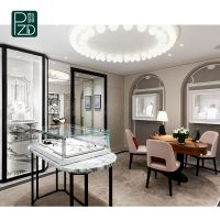 How to design a high-end jewelry store
