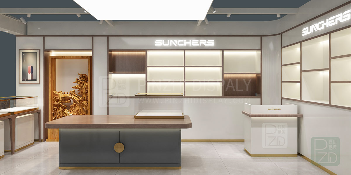 【2021 NEW】luxury small jewellery shop interior design