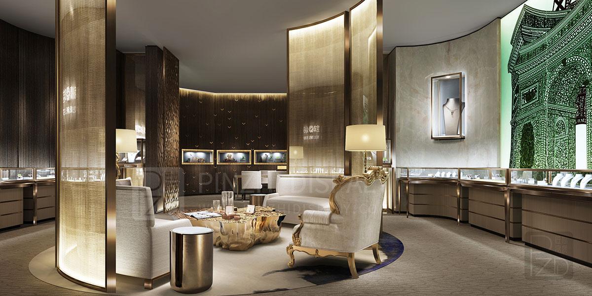 【New Zealand】Luxury Jewelry Club Display Design