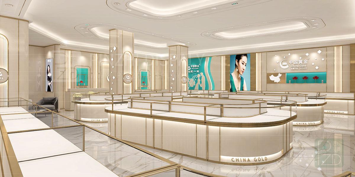 【2021 NEW】luxury jewelry store interior design