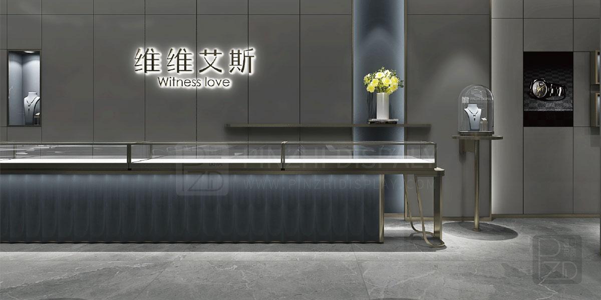 【Hongkong】Luxury jewelry showroom interior design