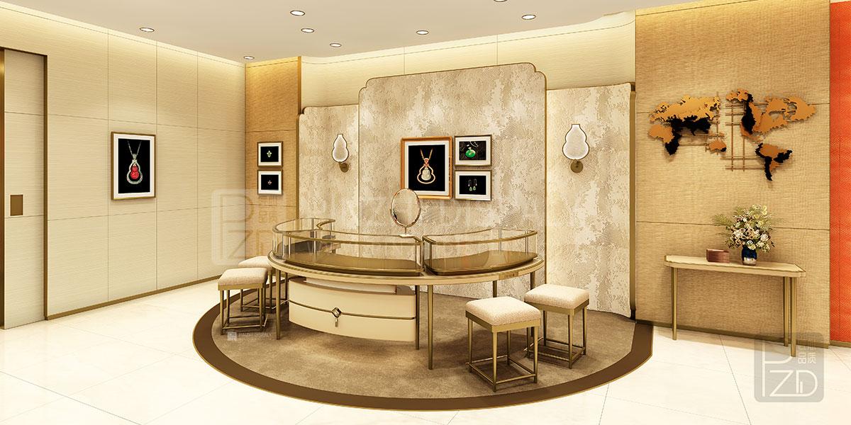 【Australia】luxury high end modern jewellery shop design