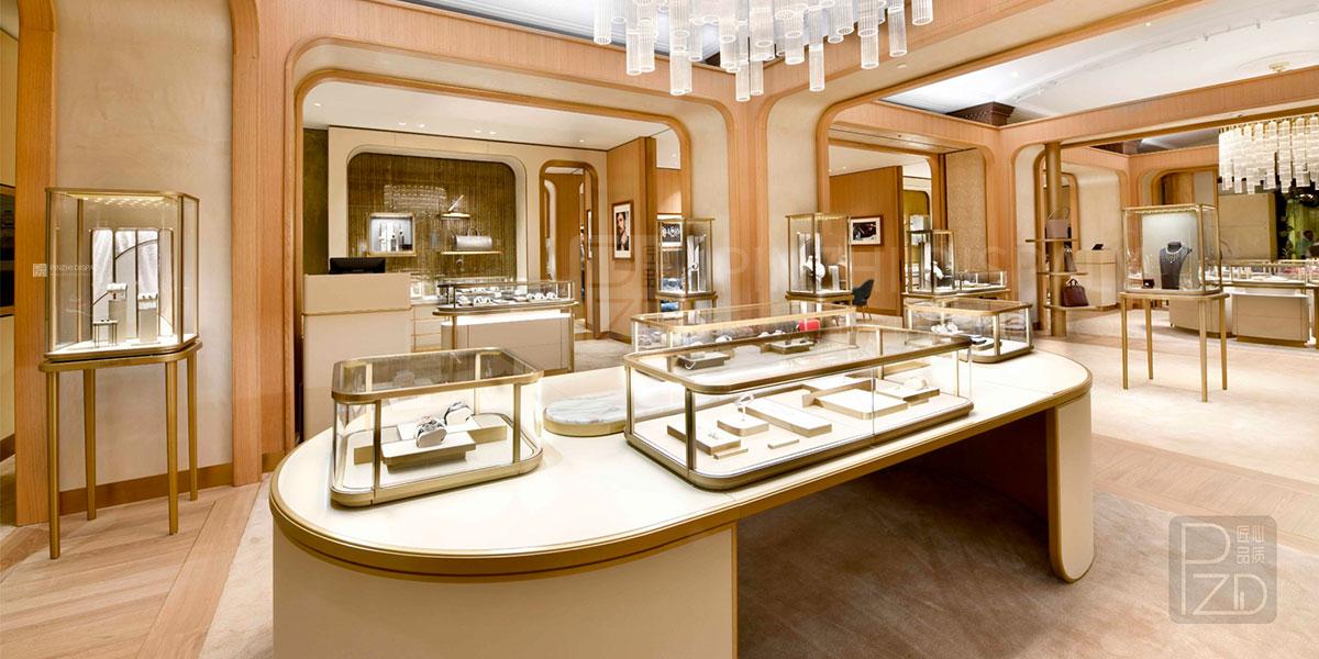 【U.K】Luxury Custom Jewelry Shop Interior Design