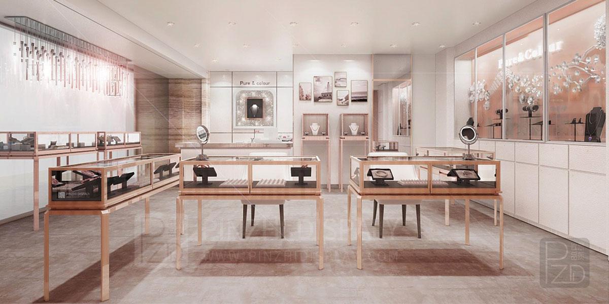 【French】high-end luxury jewelry custom shop design