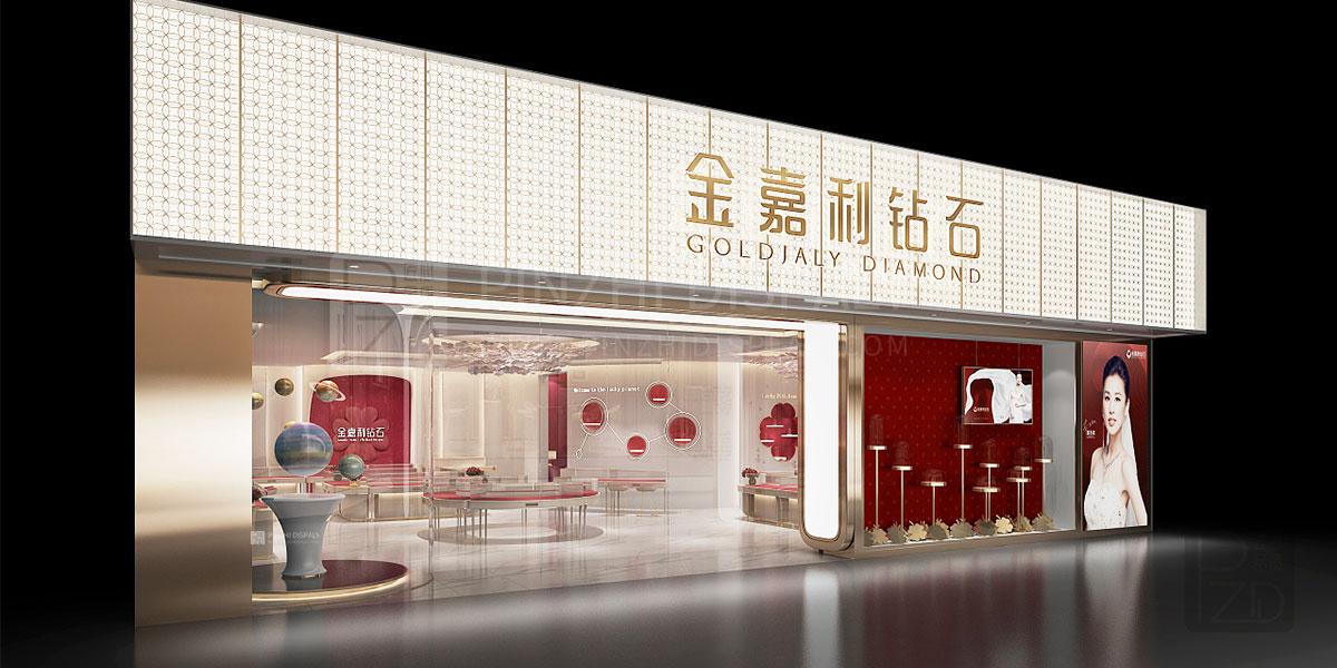 【ShangHai】luxury brand jewelry shop interior design
