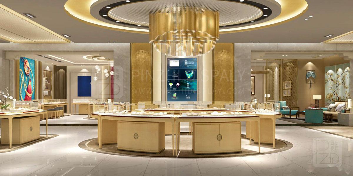 【2021 Latest】Interior Design of Gold Jewelry Store