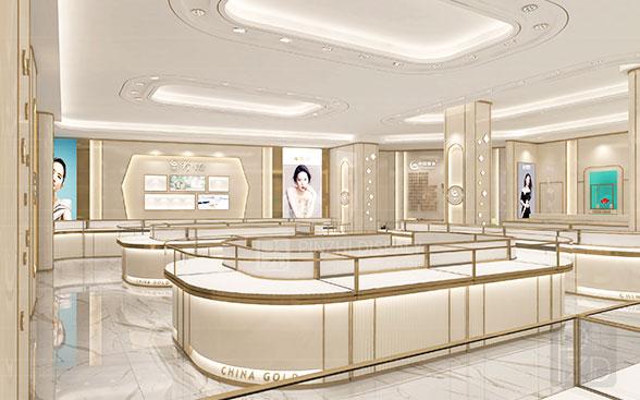 luxury jewelry shop design