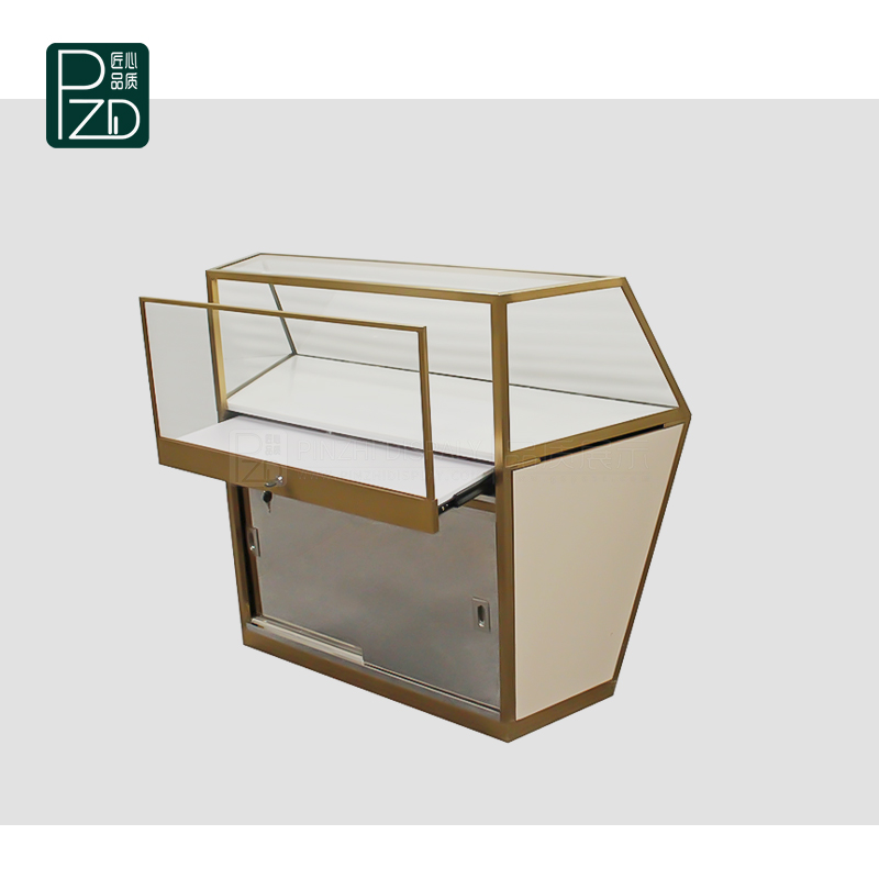 Unique design high end retail jewelry display cases