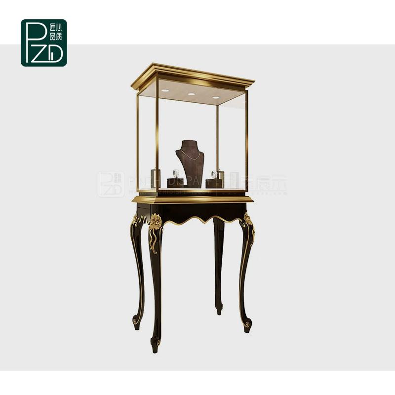 antique jewelry showcase/vintage jewellery display case