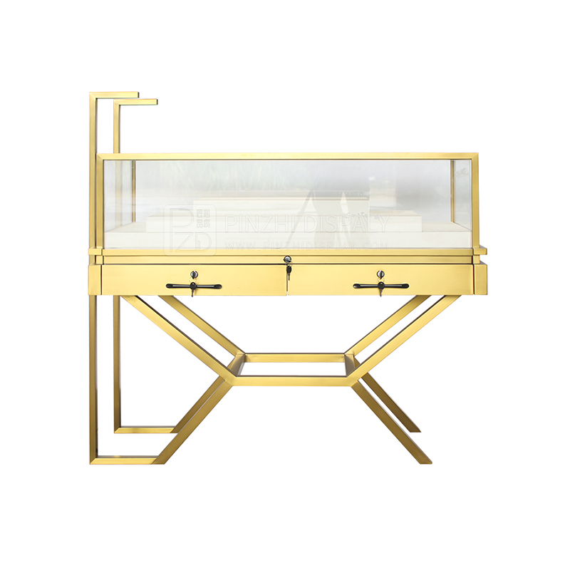 Creative design antique jewellery display cabinets for jewelry store