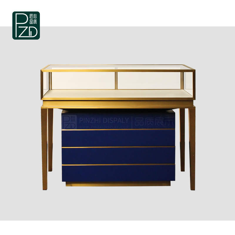 Affordable price jewellery shop display counters with cabinet