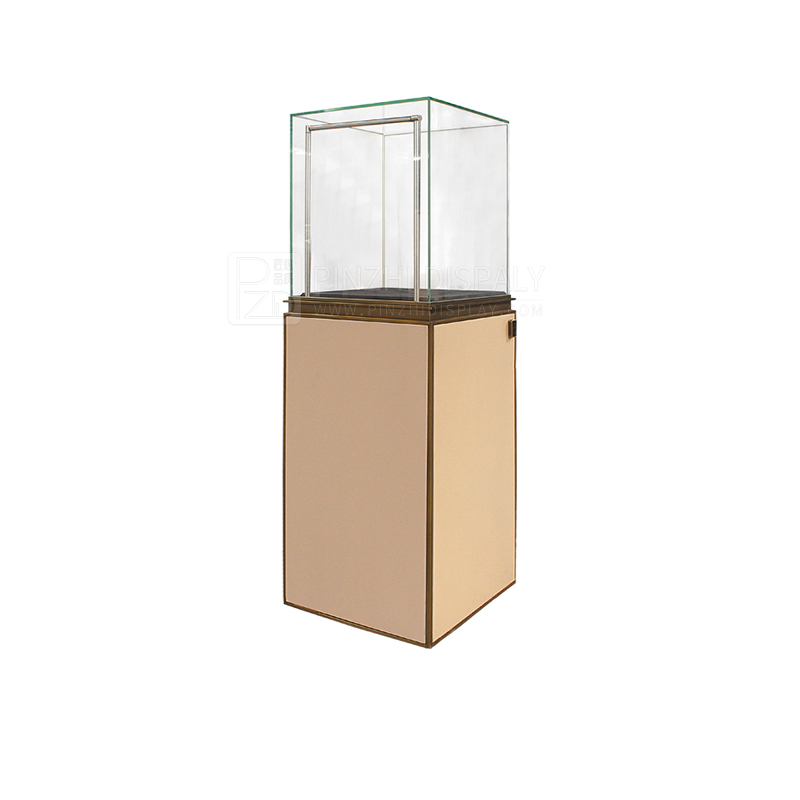 luxury jewelry showcase display sets with led lights