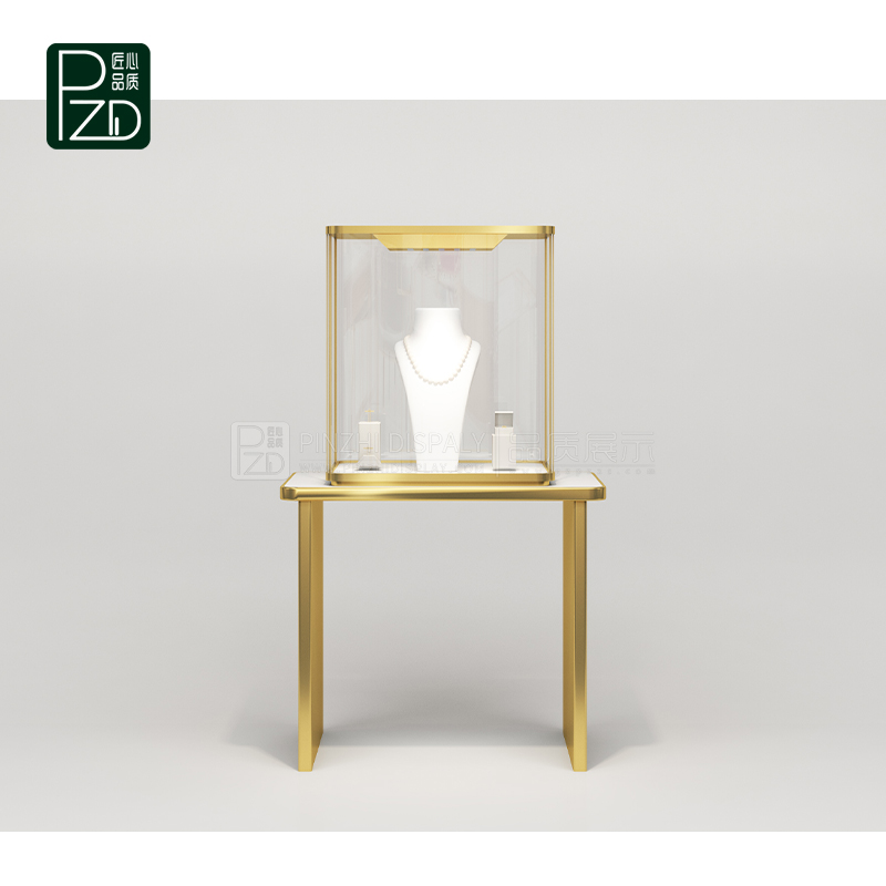 high end glass jewelry display cabinet