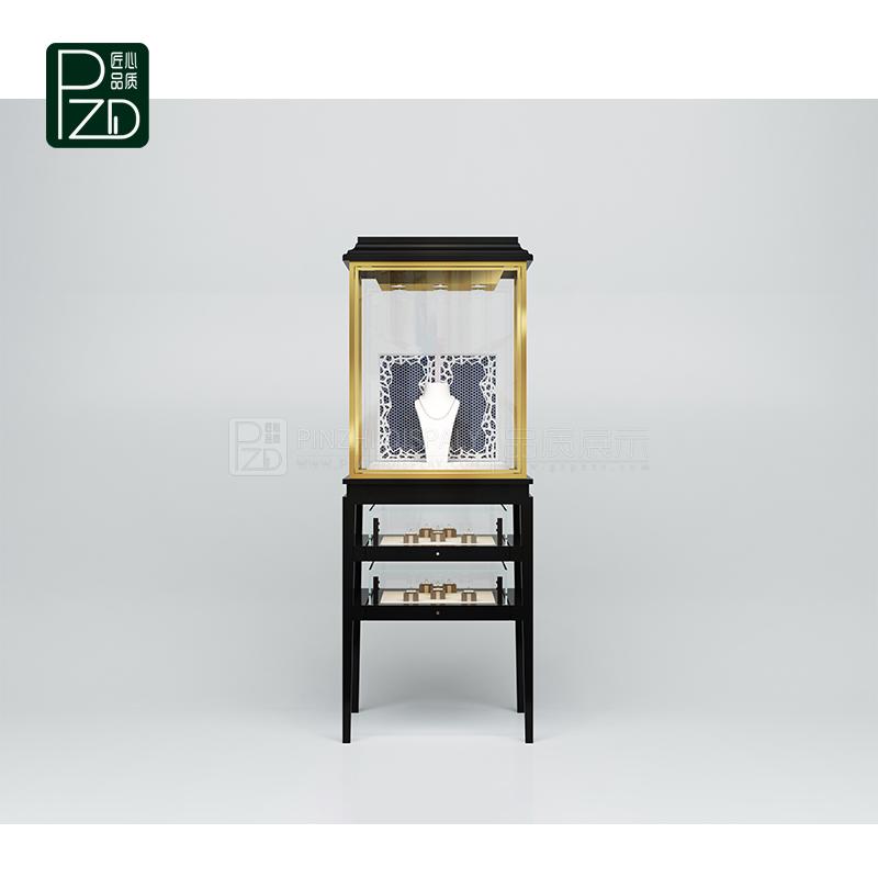 upright vintage jewelry display cabinet jewellery pedestal display stand