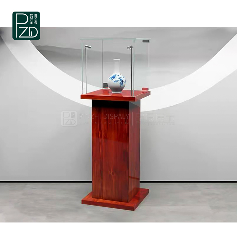 Museum display case design for exhibition