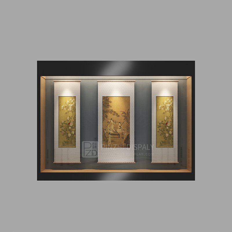 Customized collectors museum display case