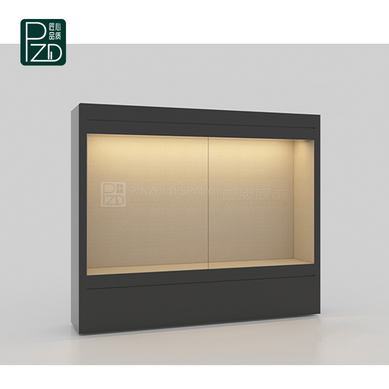High end museum dustproof glass display case