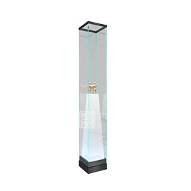 Laminated glass museum display cabinets design