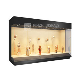 High end museum wall display cases