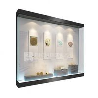 Custom Design Wall Mounted Display Case for Collectibles
