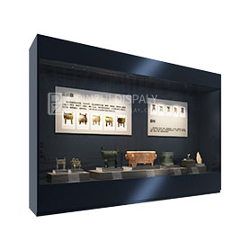 High End Quality Antique Museum Glass Display Showcase Furniture Design