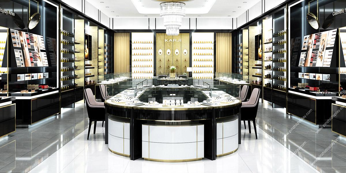 High end perfume shop interior design