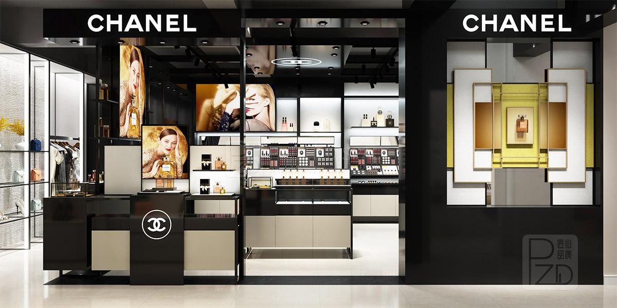 store design for small cosmetics shop